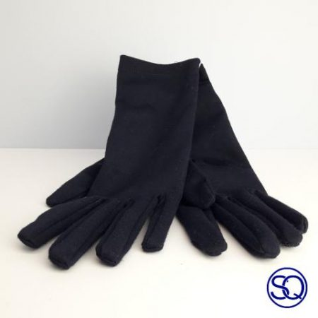 guantes verdes forro polar. Sagrario Quilez tocados y complementos (13)
