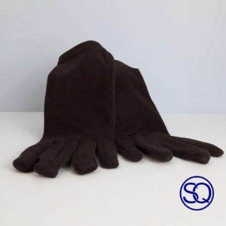 guantes negros forro polar. Sagrario Quilez tocados y complementos (9)