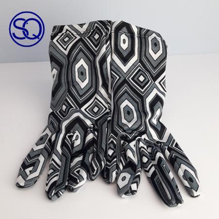 guantes rombos grises sesenteros. Sagrario quilez tocados y complementos (6)
