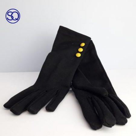 guantes finos negros con botones sagrario quilez tocados y complementos (1)